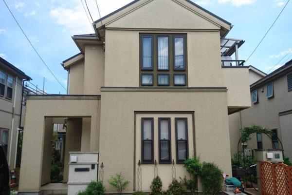 神奈川県横浜市 外壁塗装・屋根塗装・付帯部塗装 超低汚染リファイン