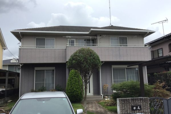 神奈川県厚木市 U様 屋根塗装 外壁塗装 目地打ち替え オートンイクシード